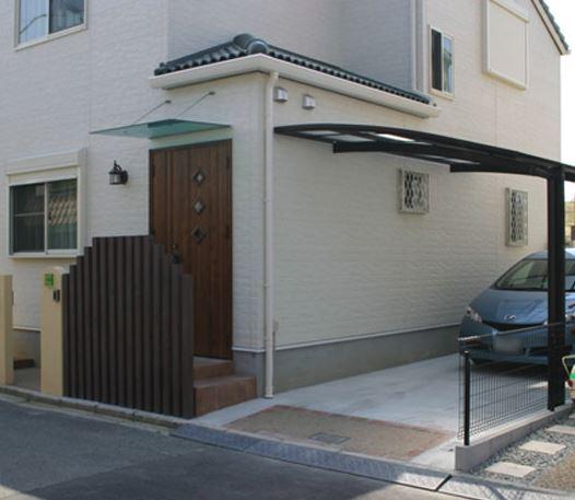 門柱・フェンス・カーポート・ウッドデッキ・テラス1